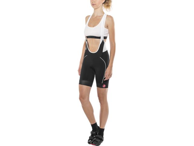 Castelli Velocissima Bib Shorts Damen black/white